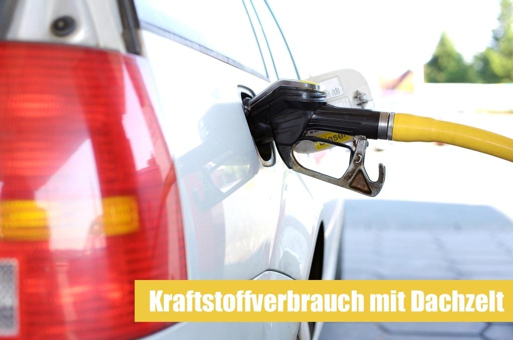 Kraftstoffverbrauch mit (Auto) Dachzelt