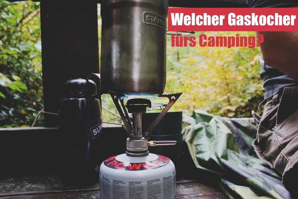 Gaskocher fürs Camping