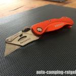 PRESCH Teppichmesser faltbar - Erfahrung & Test