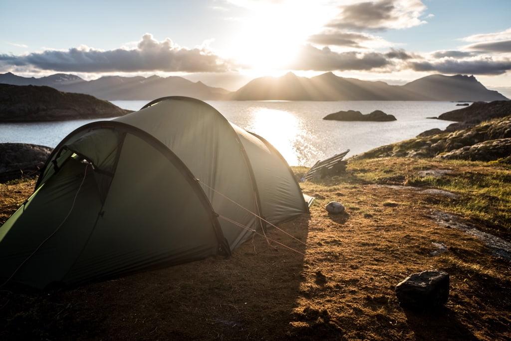 Wildcamping - Landschaft