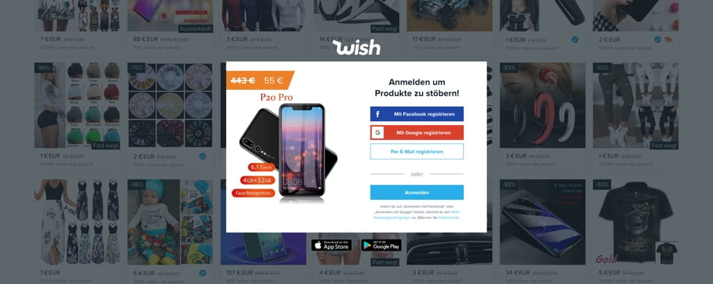 Wish Automatratzen Erfahrung / zu empfehlen - Screenshot