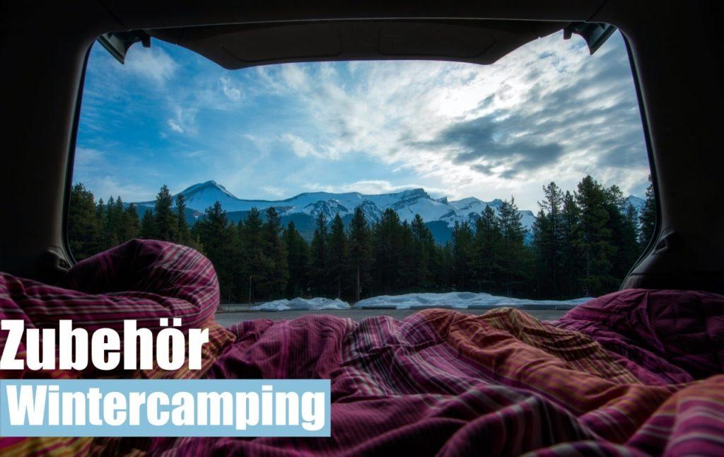 Zubehoer Winter Camping