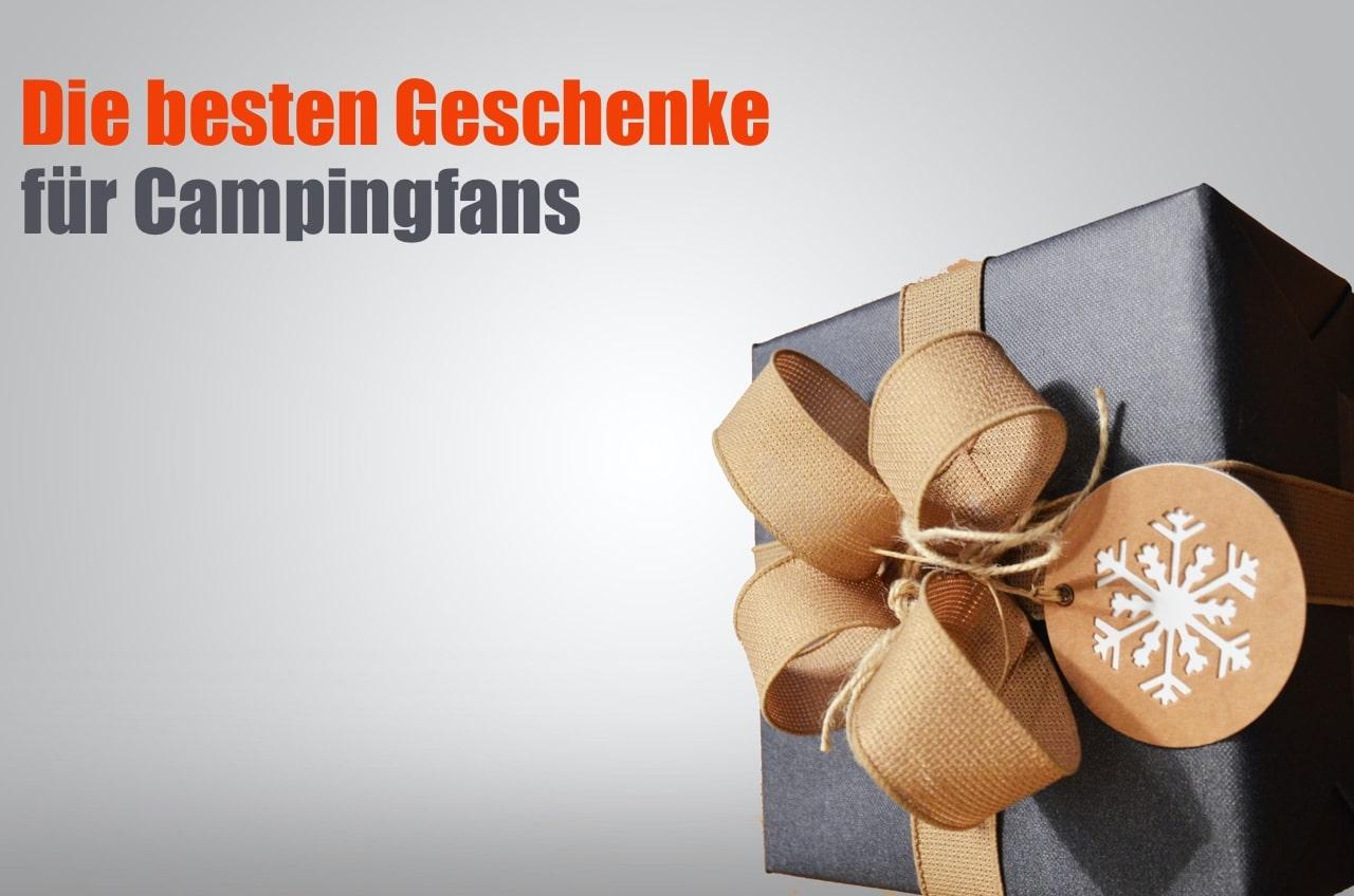 Geschenke für Campingfans - Geschenkidee für Camper